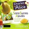 Pommes kiwis sans sucres ajoutés - Produit