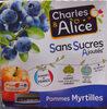 Pommes Myrtille SSA - Produit