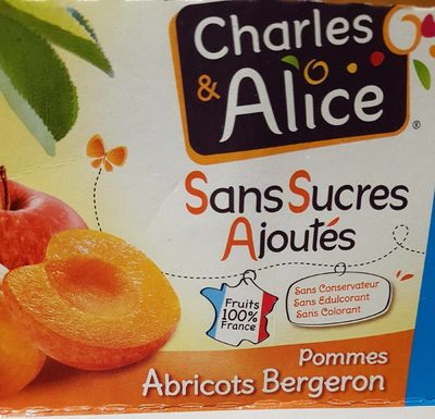 Charles & Alice pommes abricots - Product - fr