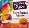Pommes Mangue sans sucres ajoutés - Product