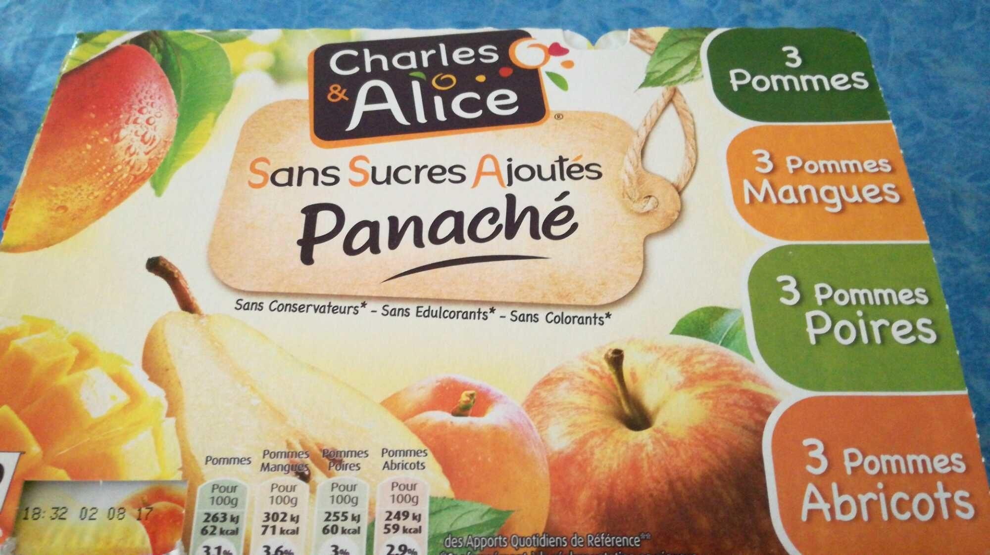 Panaché de Compotes sans Sucres Ajoutés - Produit