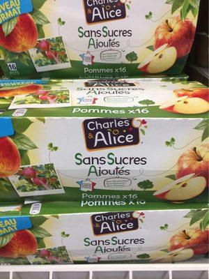 Pomme nature sans sucre ajouté - Produit - fr