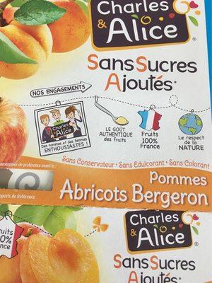 Spécialité de Pommes-Abricots - Produit - fr