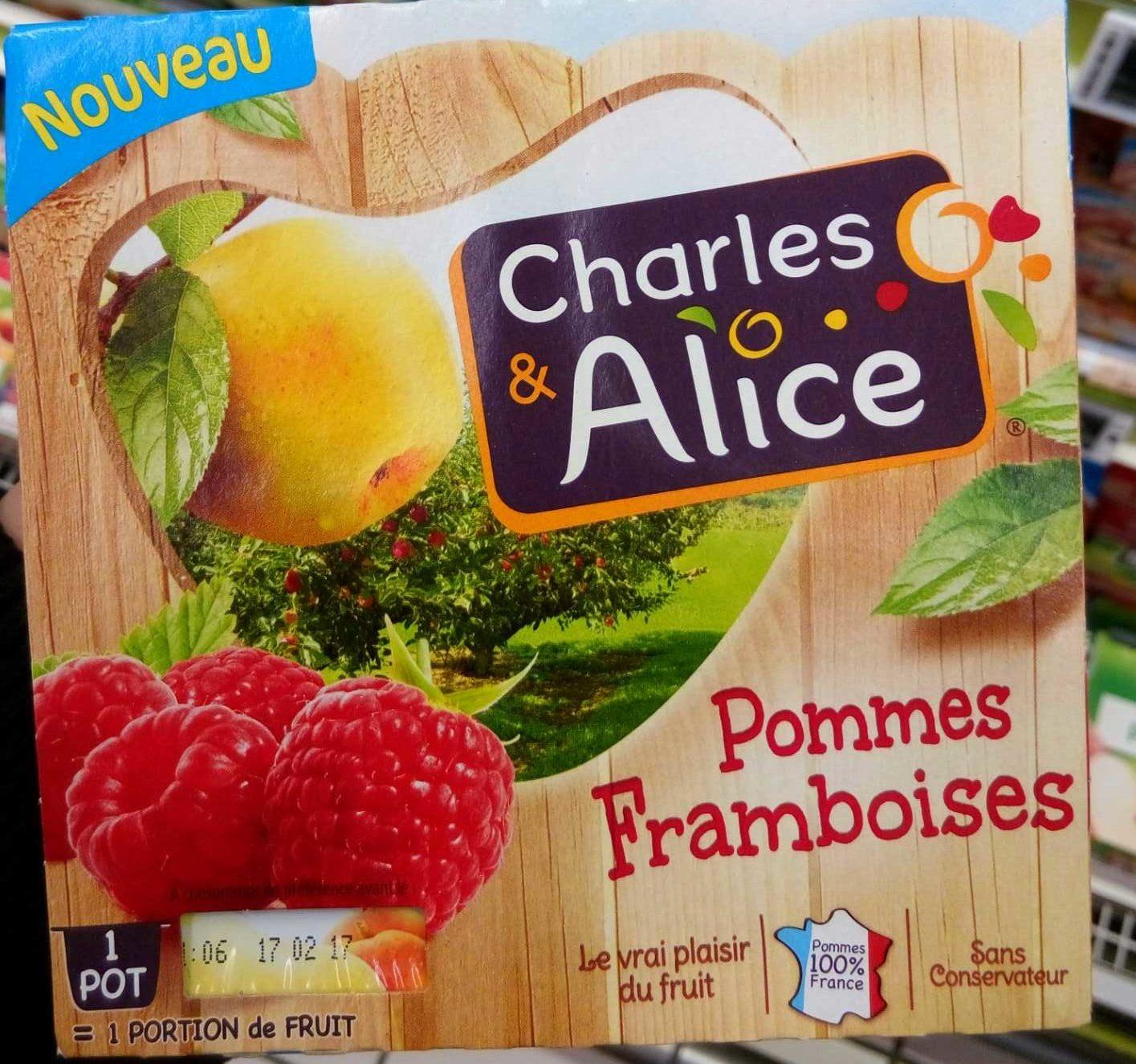 Pommes Framboises - Product