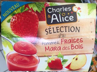 Sélection Pommes, Fraises Mara des Bois - Produit