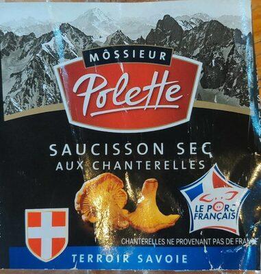 Saucisson sec aux chanterelles - Produit - fr