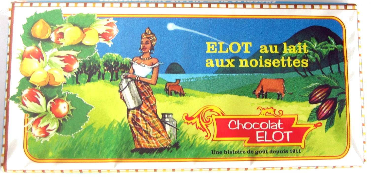 Chocolat au lait et aux noisettes - Produit