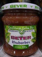 Beyer rhubarbe Bio - Produit - fr
