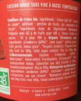 confiture extra Fraise - Ingrediënten - fr