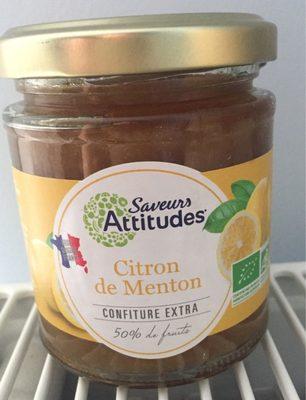 Citron de menton - Product