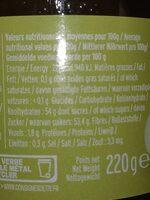 Poire williams de France - Ingrediënten