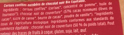 Cerise confites - Ingrédients - fr