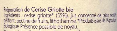 Preparation Fruit Cerise Griotte - 3