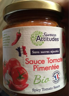 Sauce tomate pimentee - Product - fr