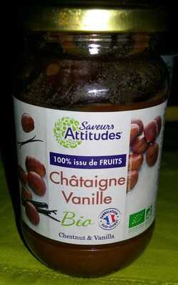 PREPARATION 100% FRUITS CHATAIGNE VANILLE - Product - fr