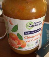 Préparation De Fruit Aux Clémentines De Corse - Product