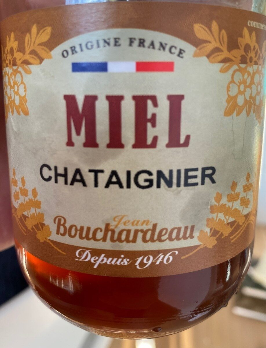Miel Chataigner - Produit - fr