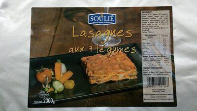 Lasagnes aux 7 légumes - Produit - fr