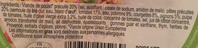 Salade provencale - Ingrédients - fr