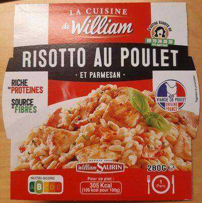 Risotto au poulet et parmesan - Product - fr
