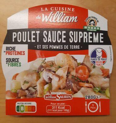 Poulet sauce suprême et ses pommes de terre - Product - fr