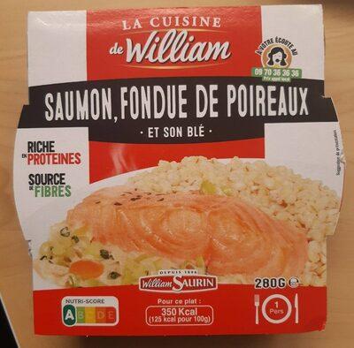 Saumon, fondue de poireaux et son blé - Product - fr