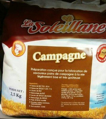 Farine pour pain de campagne SOLEILLANE - Produit - fr