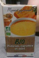Velouté potiron carottes miel bio - Produit - fr