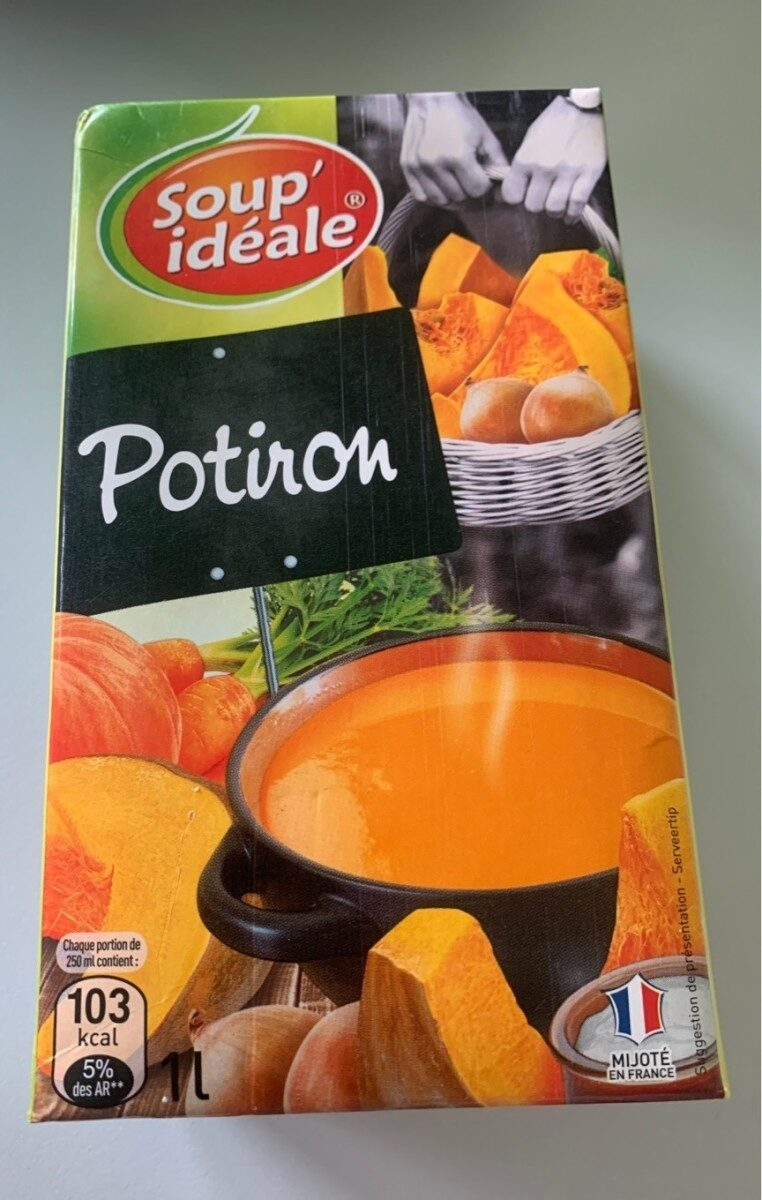 Veloute De Potiron - Produit - fr