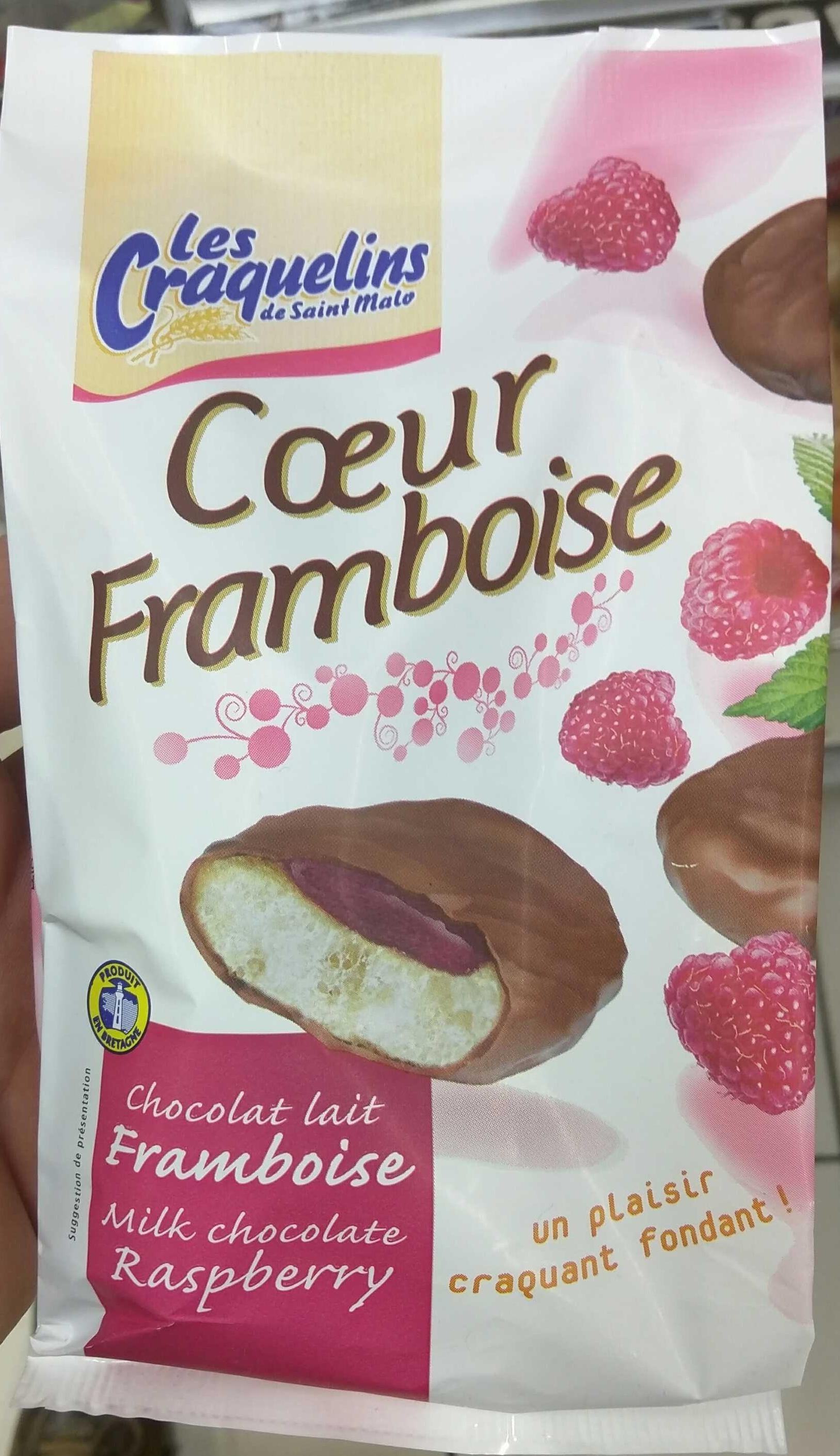 Coeur Framboise - Product