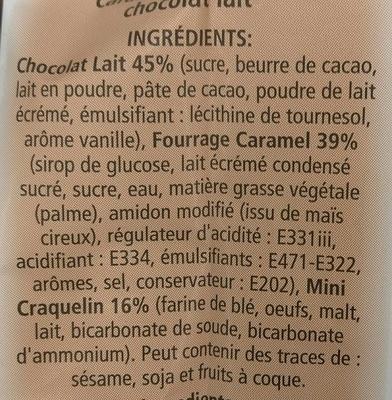 Coeur caramel les craquelins de saint malo 110 g - Bicarbonate de soude carrefour ...