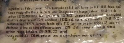 Salade savoyarde - Ingredients
