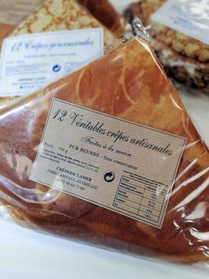 Crêpes artisanales faites à la main - Produit - fr