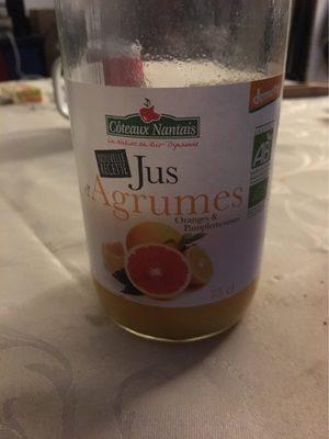 Jus 3 Agrumes - Produit - fr