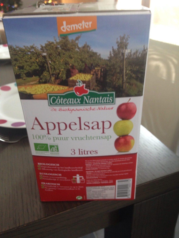 Jus de pomme bio Côteaux Nantais - Produit - fr