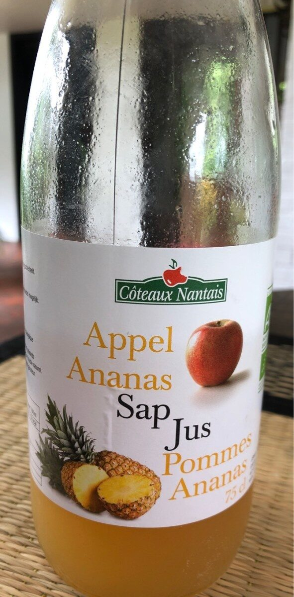 Jus Pomme Ananas - Product - fr