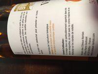 Vinaigre de cidre - Ingredients