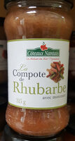 Compote De Rhubarbe - Product - fr