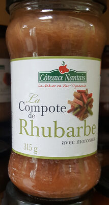 Compote De Rhubarbe - Product
