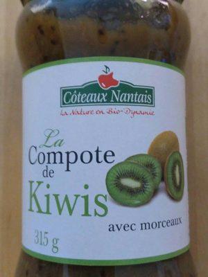 Compote de kiwis avec morceaux - Produit