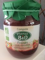 Compote de fraise avec morceaux - Produit