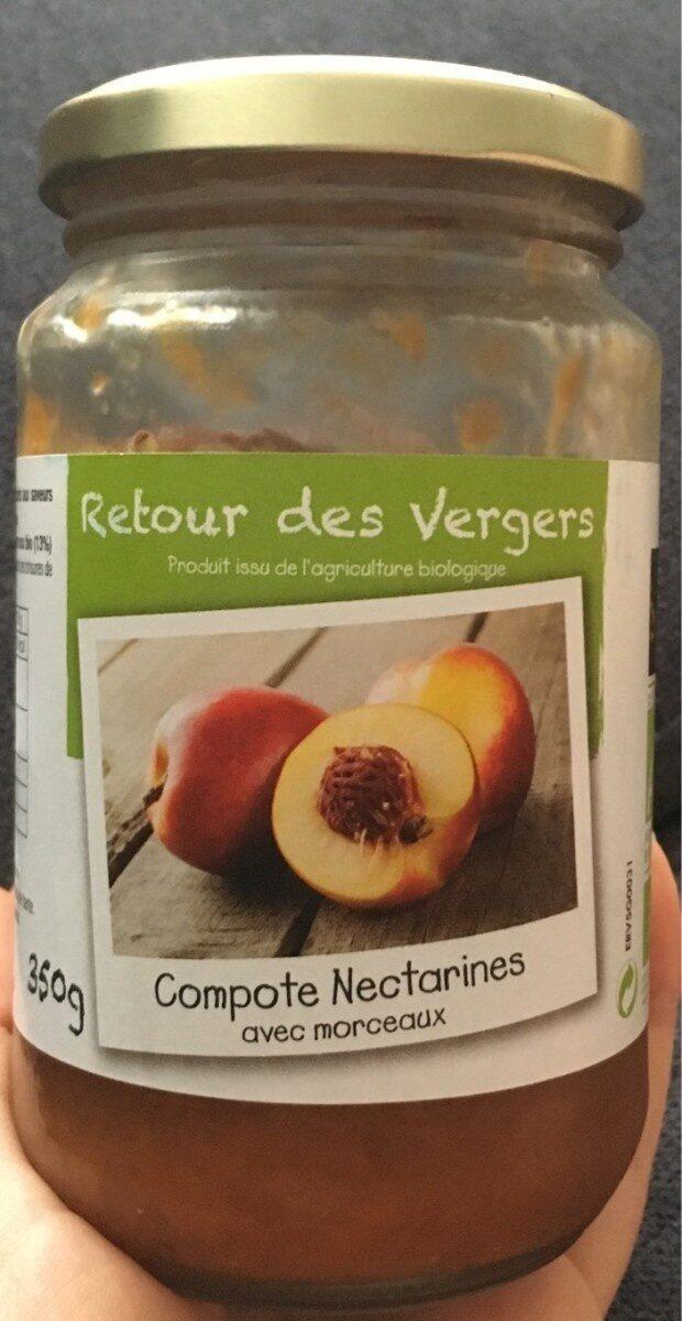 Compote de nectarines - Produit - fr