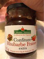 Confiture Fraise / Rhubarbe - Product - fr