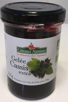 Gelée Cassis extra - Produit - fr