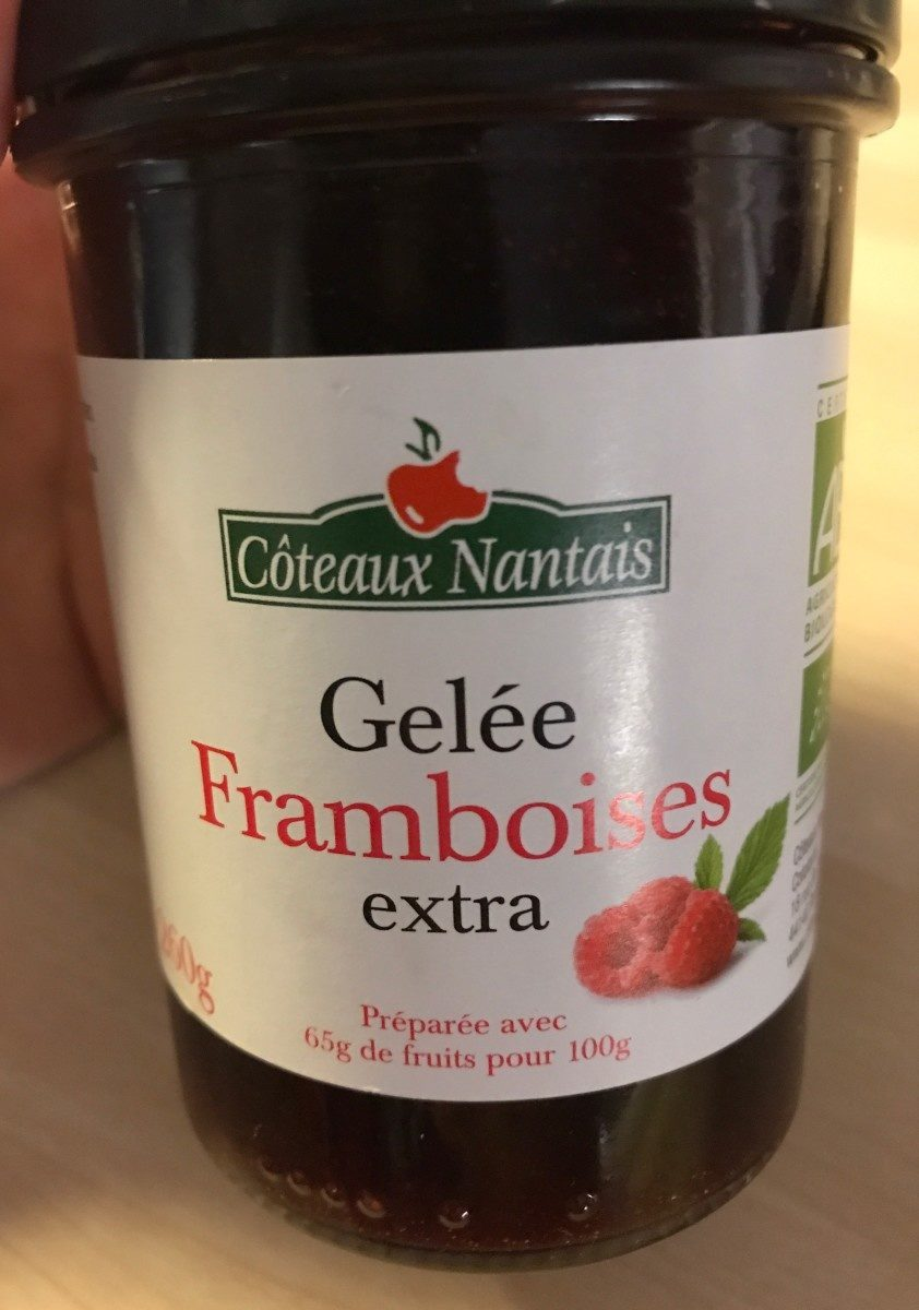 Gelée framboises extra - Product