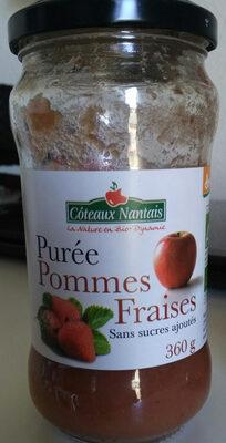 Puree Pomme Fraise - Produit