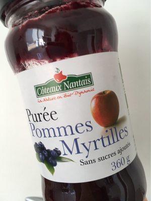 Purée De Pomme Myrtille - Product