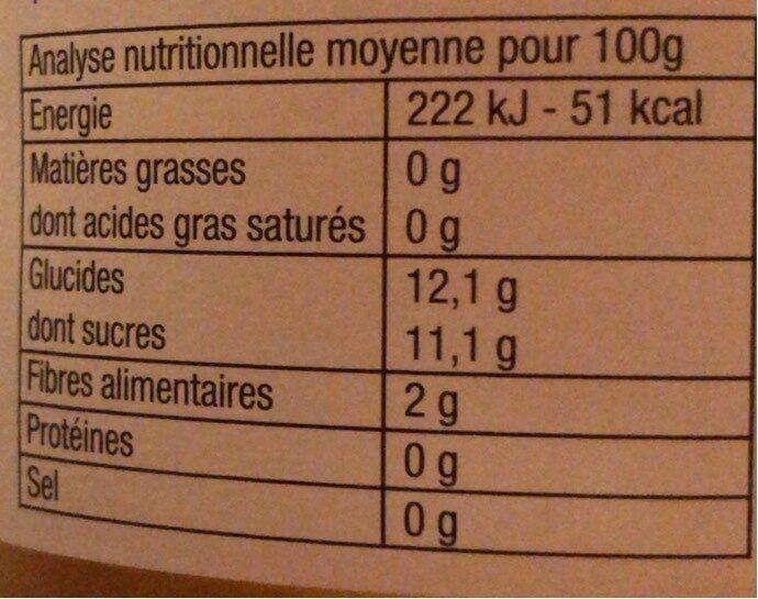Puree pomme poire - Nutrition facts - fr
