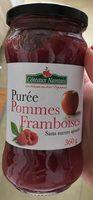 Puree Pomme Framboise 360G CN Demeter - Produit - fr