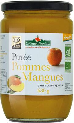 Purée Pommes Mangues - Produit - fr